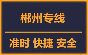 天津到郴州物流公司