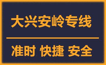 天津到大兴安岭物流公司