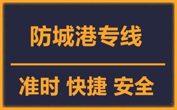 天津到防城港物流公司
