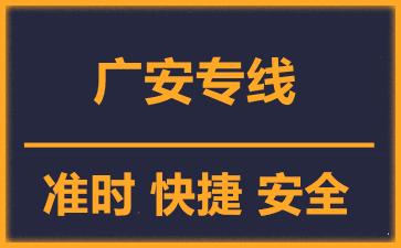 天津到广安物流公司