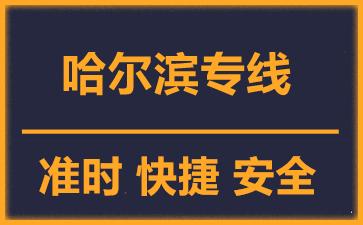 天津到哈尔滨物流公司