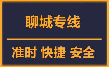 天津到聊城物流公司
