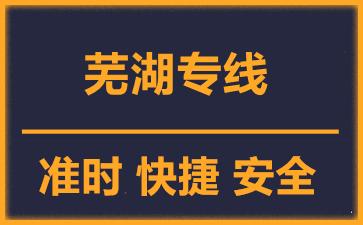 天津到芜湖物流公司