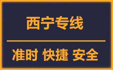 天津到西宁物流公司