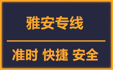 天津到雅安物流公司