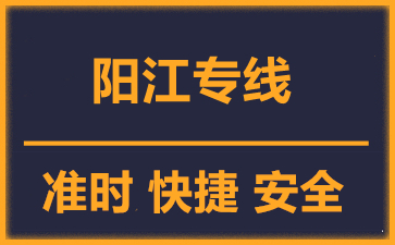 天津到阳江物流公司