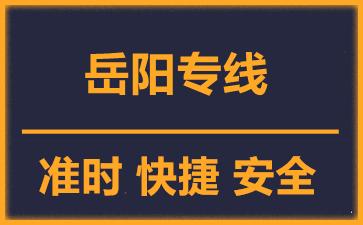天津到岳阳物流公司